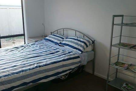 Comfortable bedroom amazing view!
