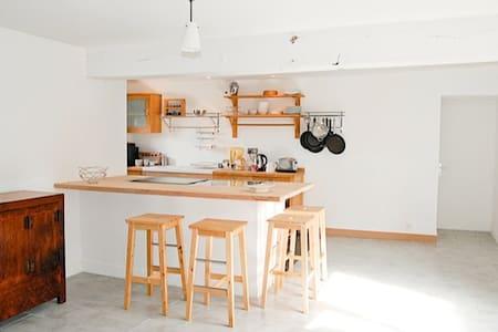 Joli appartement dans une longère - Casa