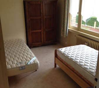 Chambre 2 lits simples - Lille