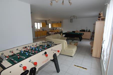 1 chambre meublée (3) - Neuvy-sur-Loire - Dům