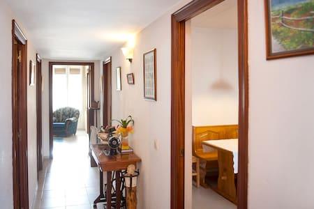 Mediterranean flat, terrace, Wifi.  - Santa Coloma de Cervelló - Apartment