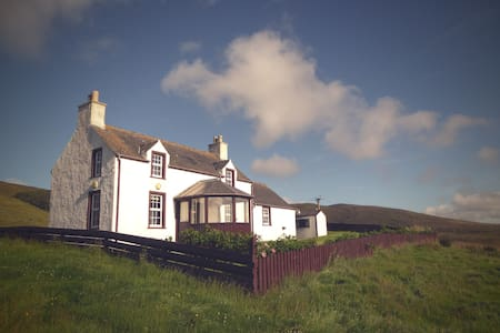 Traditional Shetland cosy cottage - weisdale - Penzion (B&B)