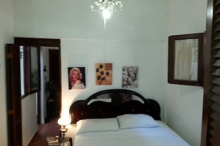 NICE ROOM NEAR THE CARIBEAN W A/C - Santo Domingo