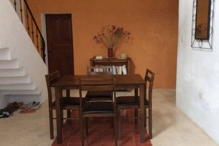 Ensuite double room in Merida casa