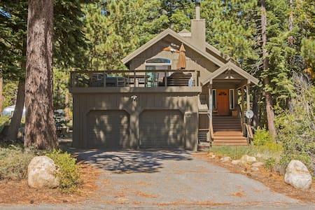 Hilltop remodeled central Tahoe hom