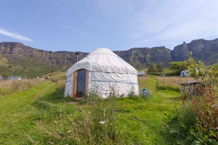 Yurting on stunning Isle of Eigg  - Isle of Eigg - ユルト