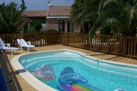 L'Oasis - Villa near the Med / Villa proche Mer - Sauvian - Hus