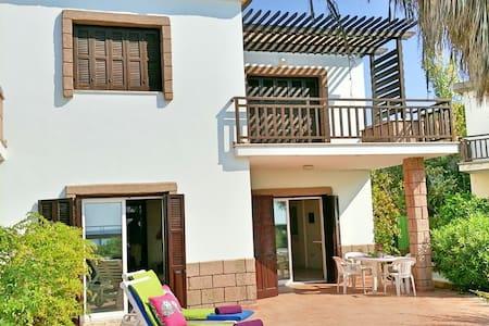 Seafront Villa on beach in Larnaka - Larnaka - Villa