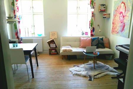 Cosy, bright apartment in Aarhus C.