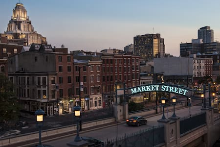Industrial Chic Loft in Old City - Philadelphie