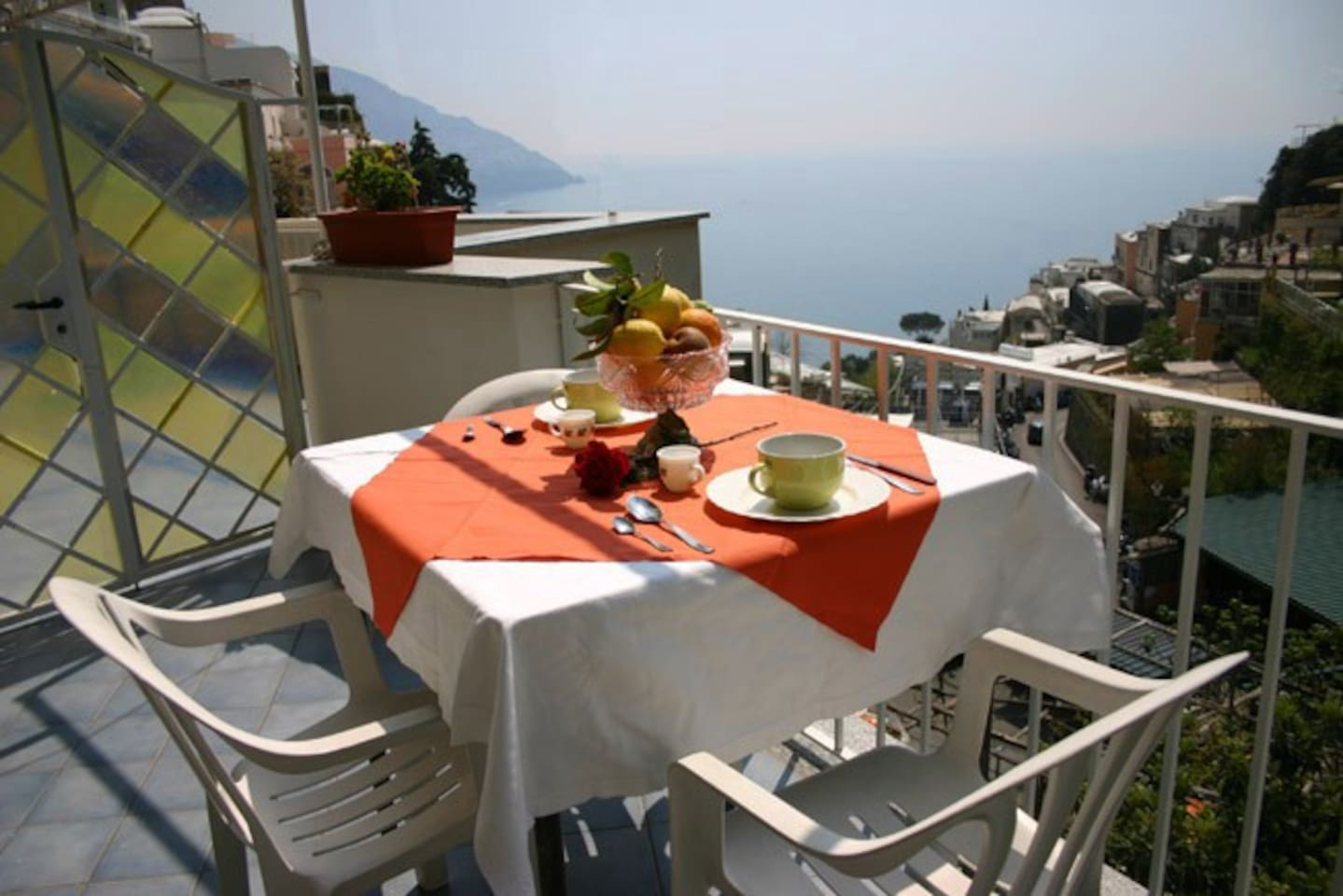 Stunning sea-view from Carla Apartment in Positano
