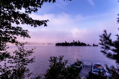 Susie's Island, Adirondack Mtns. - Union Falls - Kisház