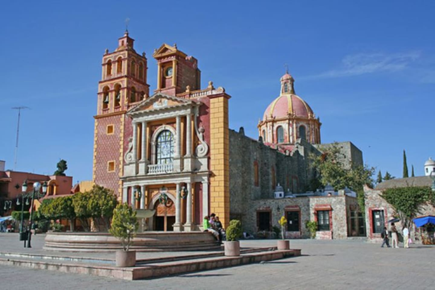 Beautiful Central Mexico Tequis Qro In Tequisquiapan