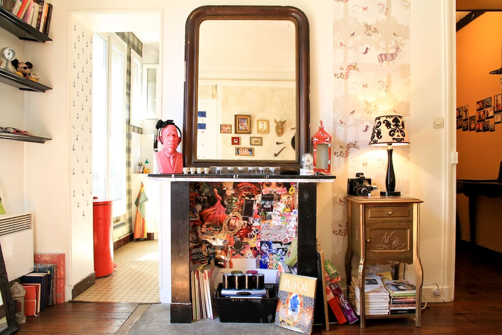 ARTY & COSY APPARTMENT in PARIS