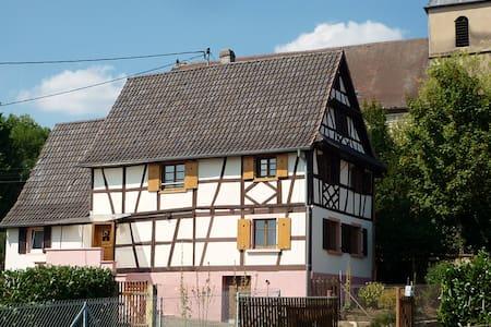 Maison alsacienne typique  6 pers. - Gunstett - House