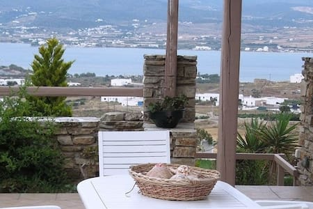 A house with panoramic view - ANTIPAROS - Talo