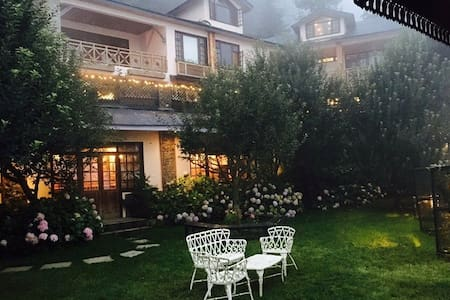 Mahasu House is an enchanting and exclusive hideaway nestled in the beautiful forests of Mashobra. A haven for those wishing to get away from the hustle bustle of daily life and experience nature . Price mentioned is per room . Visit our website.