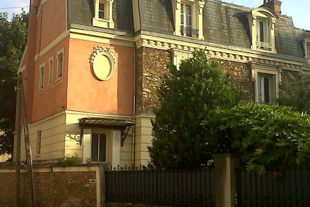 Meulière bourgeoise de charme - Corbeil-Essonnes - Rumah