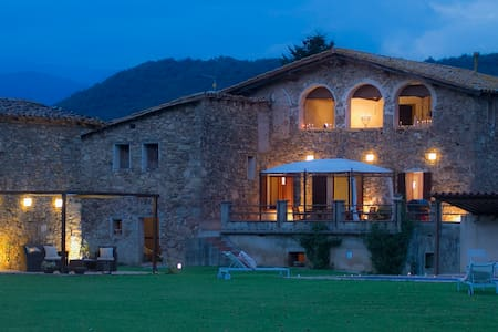 Private farmhouse near the Pyrenees - Casa