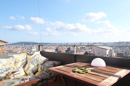 Quiet modern flat with amazing view