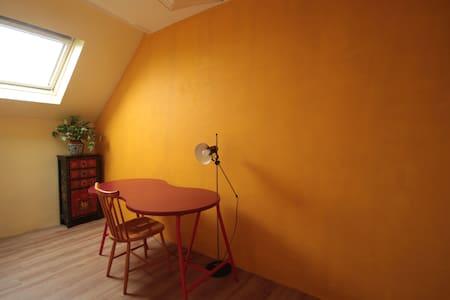 Chambre calme et confortable - Ixelles - Hus