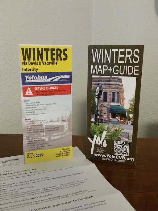 Come visit historic Winters!!