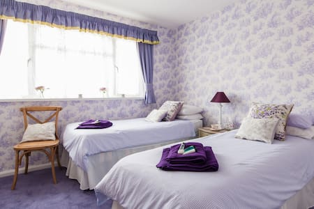 Twin Bedroom - Cardiff - Bed & Breakfast