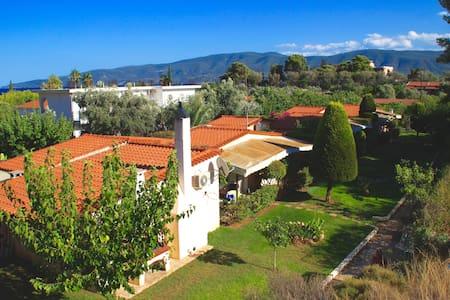 40m2 House / garden next to beach - Rumah