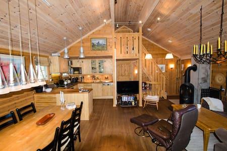 Fjellhytte med høy standard - Blockhütte