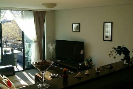 Modern bedroom in North Sydney