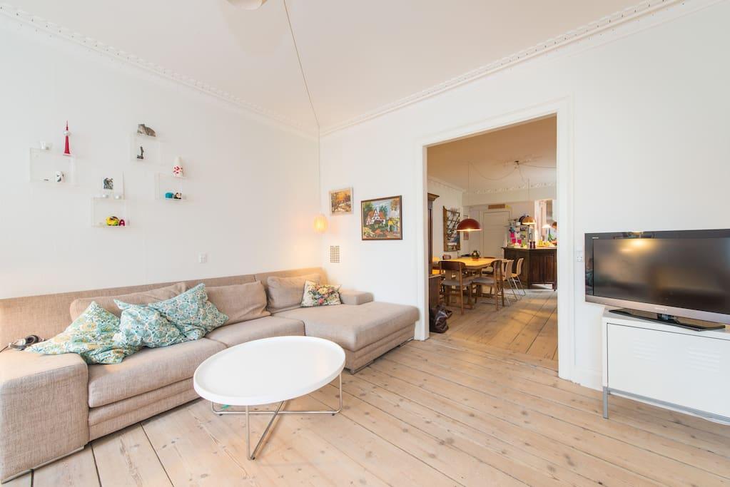Huge LUXURY room in HIP Copenhagen
