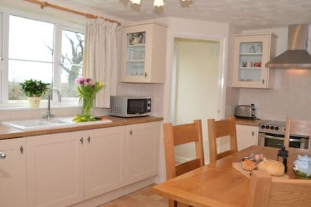 Ugworthy Barton Farm Cottage - Holsworthy - Casa