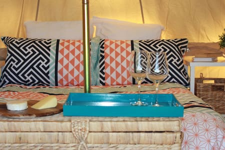 Glamping - 5 Metre Bell Tent - Tent