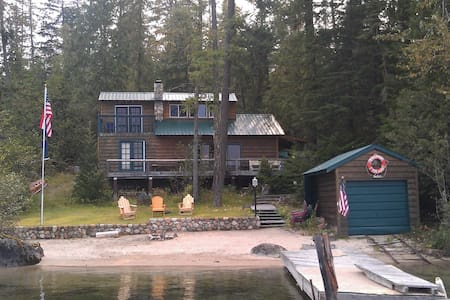Family Priest Lake Waterfront - Kabin