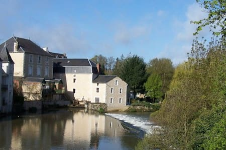 Cosy Mill off A10 south of Poitiers - Hus