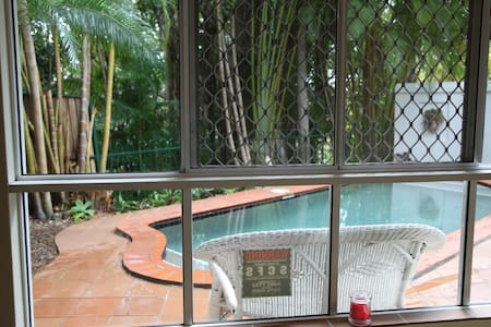 Private apartment on Buderim Mtn