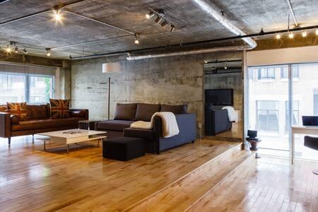 Superb 1 Bedroom Loft -Old Montreal