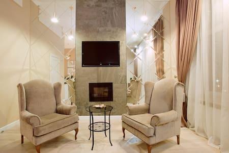 Unique studio with a fireplace - Moskva - Appartamento