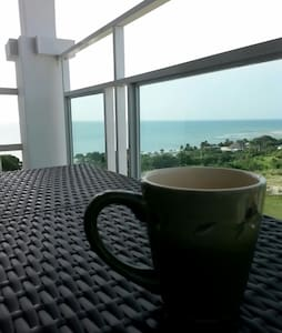 2 level 3 balcony Front beach Apt - San Carlos District