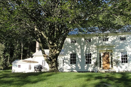 White Farmhouse: Partial Home - Hillsdale