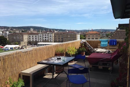 Flat share room in central Zurich