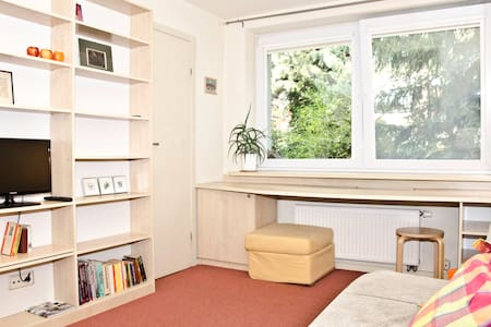 Garden Studio Apartment 5 min to City Centre - Byt