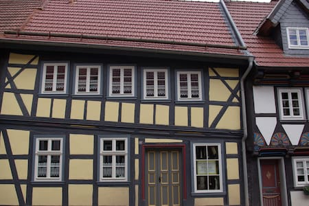 Schiefes Haus in Stolberg/Harz - House