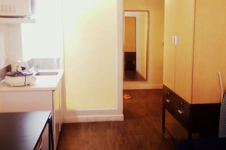 Spacious studio right in the city