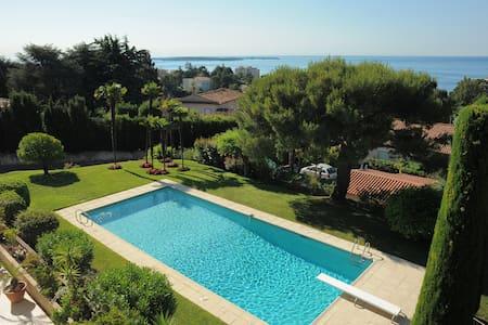 Villa Cesaree seaview pool & garden