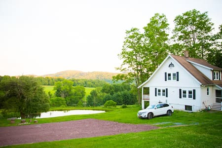Catskill Chic Retreat on 20 Acres - Callicoon - House