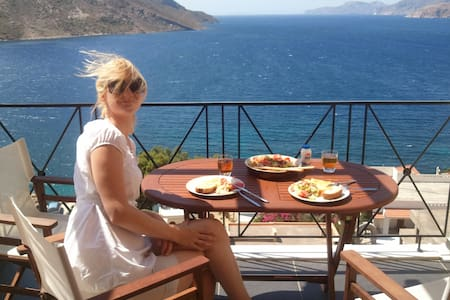 Kalymnos paradise with sea view - Huoneisto