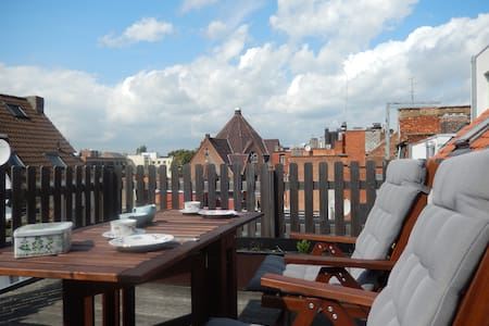 Nice apartment with large terrace - Antwerpen - Apartment