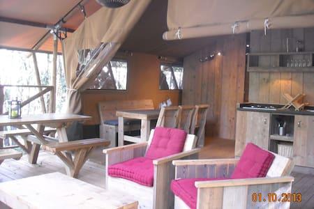 Safari Lodge - Labastide-de-Virac - Cabane