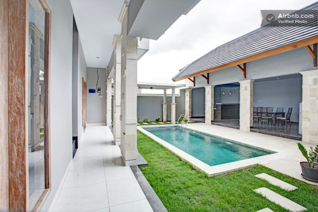 Pool and open living